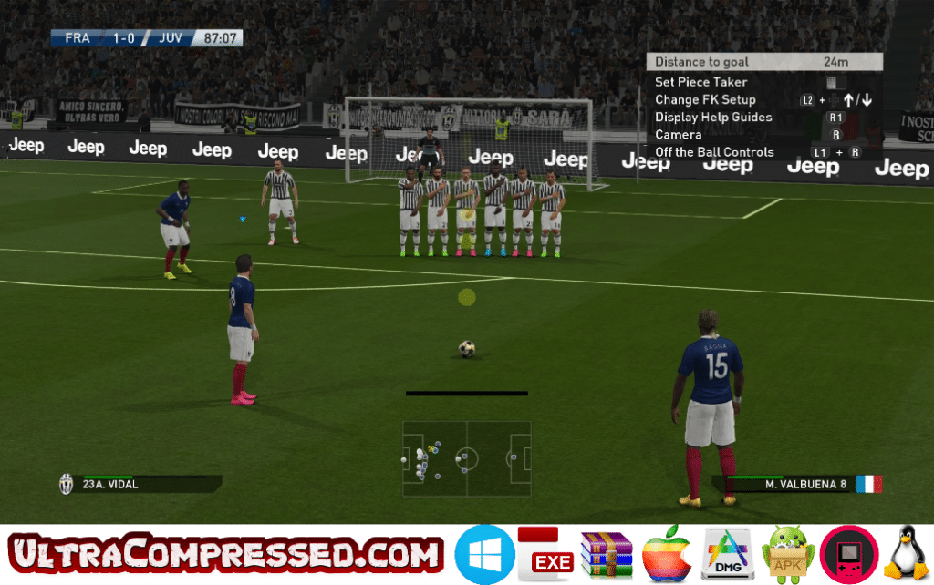 PES 2016 Highly Compressed Download