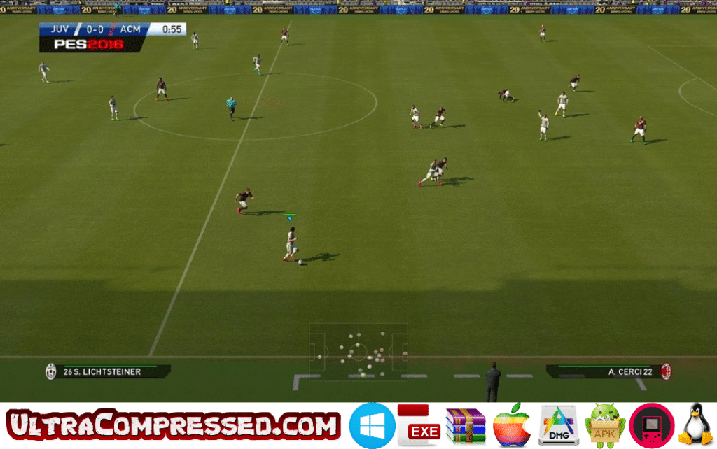 PES 2016 Highly Compressed PC