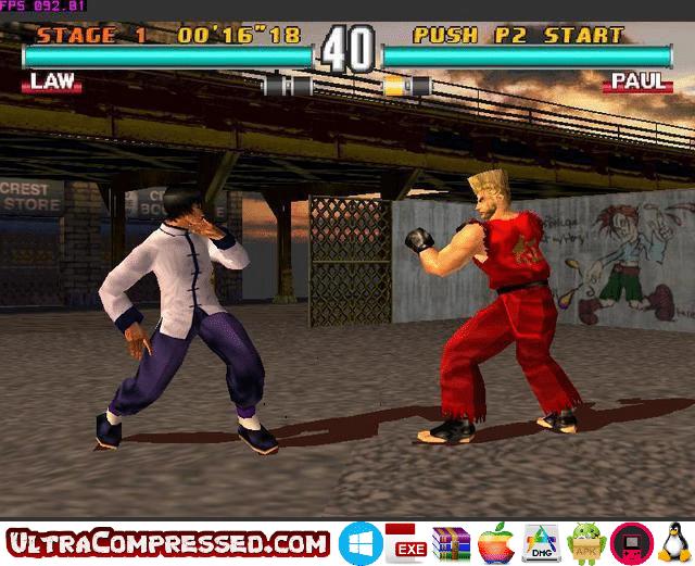 Tekken 3 Game for PC