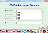 Resetter Epson L120