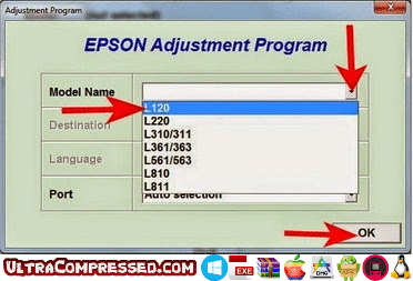 Resetter Epson L120 Download