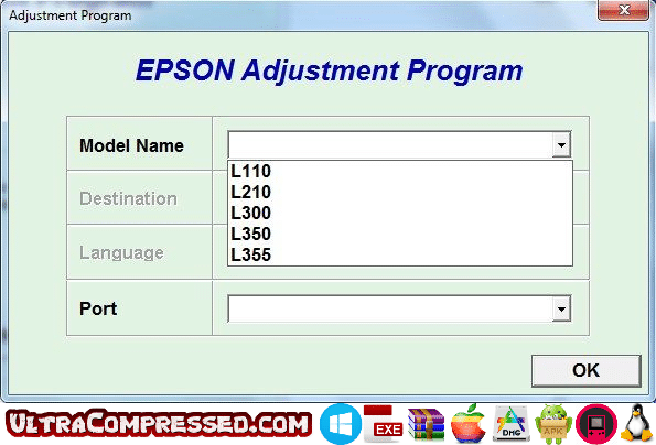 Resetter Epson L120 Free Download – Ultra Compressed
