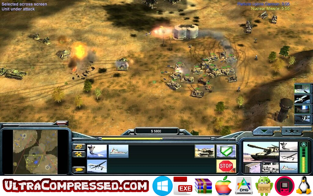 Command & Conquer Generals Highly Compressed Download