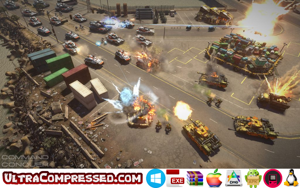 Command & Conquer Generals Highly Compressed