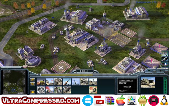 Command and Conquer Generals Highly Compressed PC
