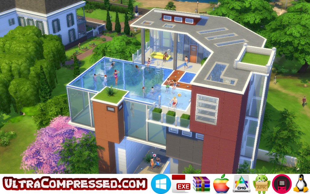 The Sims 4 Highly Compressed