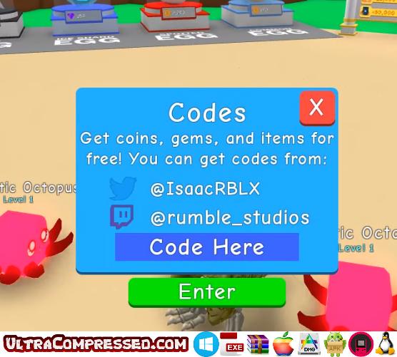Bubble Gum Simulator Codes