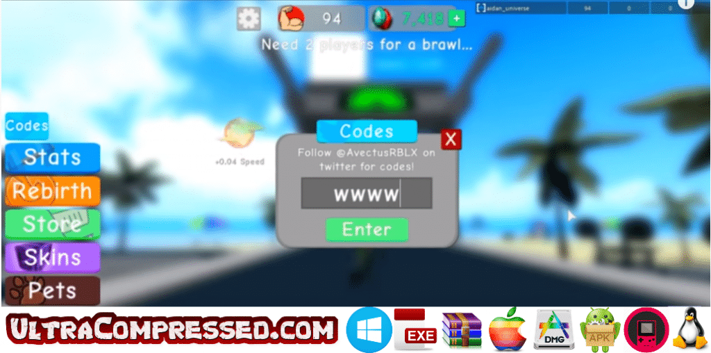 Weight Lifting Simulator 3 Codes List Roblox Ultra Compressed