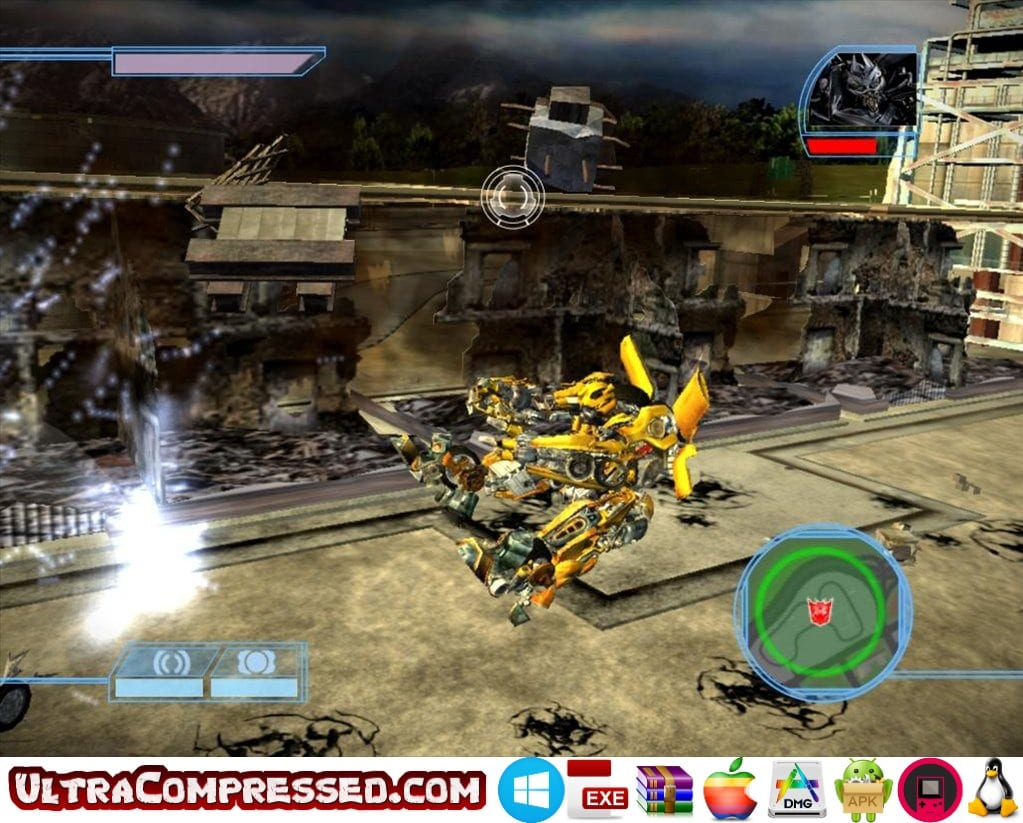 Transformers The Game Highly Compressed