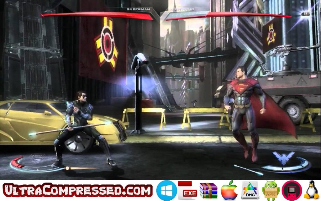 Injustice Gods Among Us Highly Compressed for PC and Android