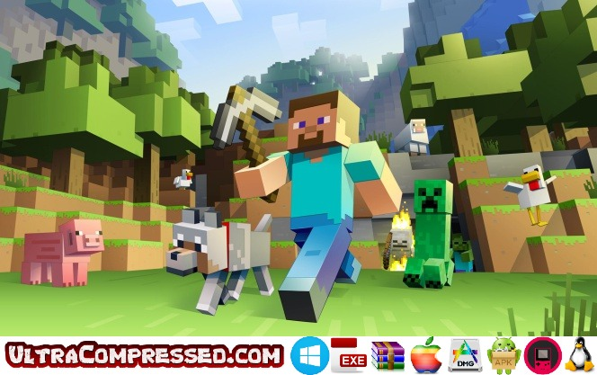 Minecraft Highly Compressed for PC and Android