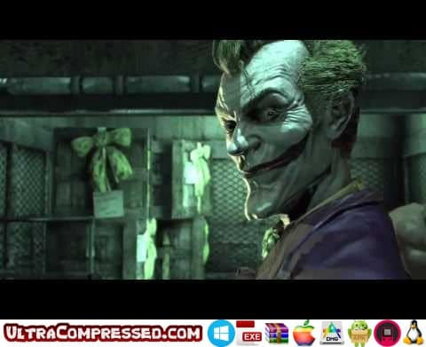 Batman Arkham Asylum Highly Compressed for PC