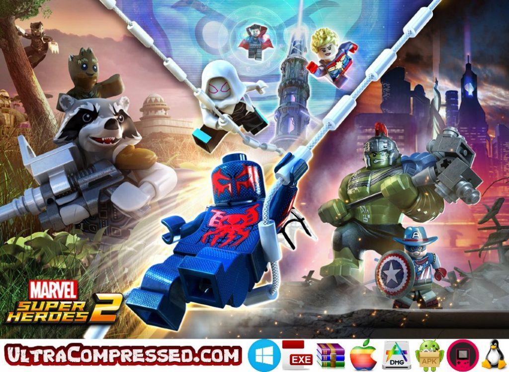 LEGO Marvel Super Heroes Highly Compressed