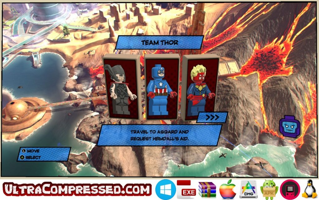 LEGO Marvel Super Heroes Highly Compressed for PC