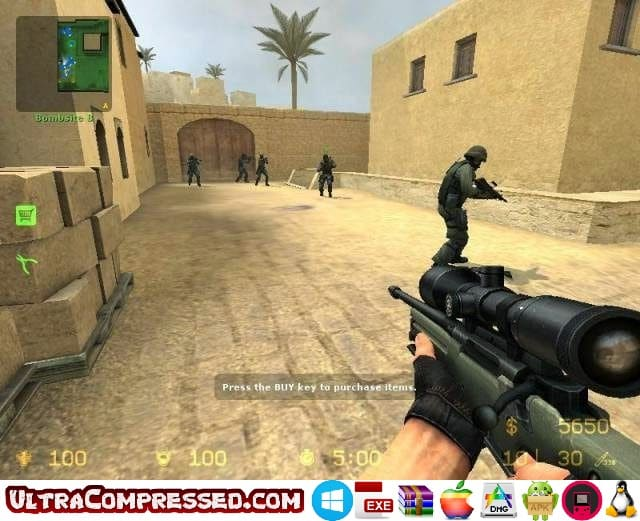 Counter Strike Source Highly Compressed for PC